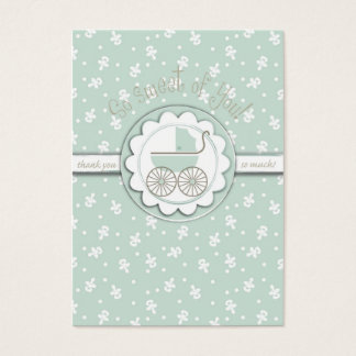 Sweet One TY Gift Tag