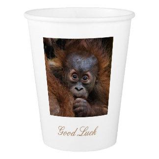 Sweet Orang Utan baby Paper Cup