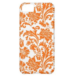 Sweet Orange Damask iPhone 5 Cover