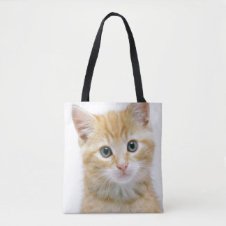 Sweet Orange Tabby Tote Bag