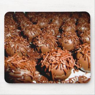 Sweet Orange truffle Mouse Pad