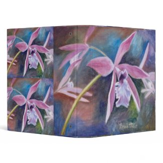 Sweet Orchid Binder binder