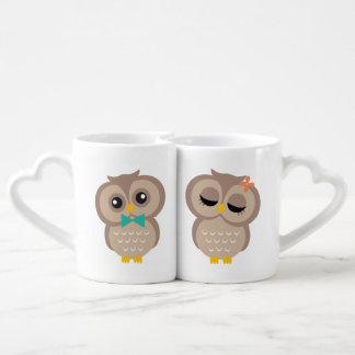 Sweet Owl Couple Coffee Mug Set