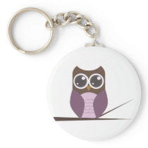 Sweet Owl Keychain