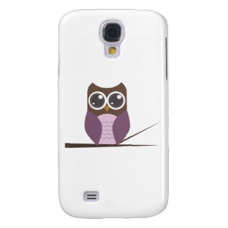 Sweet Owl on Branch Samsung S4 Case