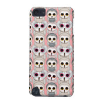 Sweet Owlets Baby Owls on Pale Pink Pattern iPod Touch (5th Generation) Case