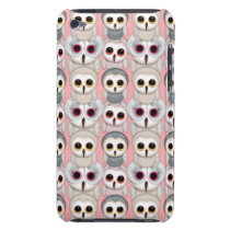 Sweet Owlets Baby Owls on Pale Pink Pattern iPod Touch Case