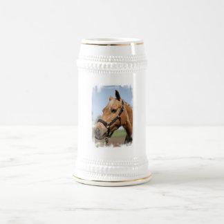 Sweet Palomino Beer Stein 18 Oz Beer Stein