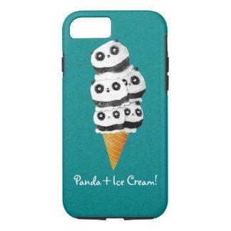 Sweet Panda Bear Ice Cream Cone iPhone 7 Case