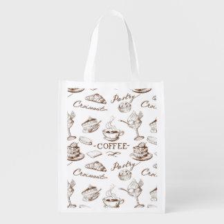 Sweet paper grocery bag