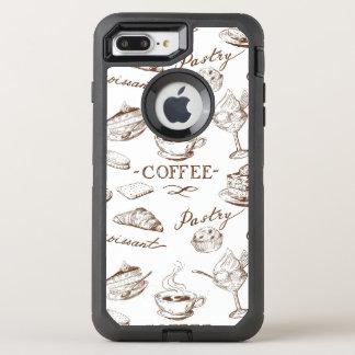 Sweet paper OtterBox defender iPhone 8 plus/7 plus case