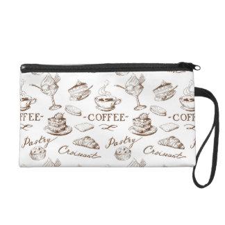Sweet paper wristlet purse