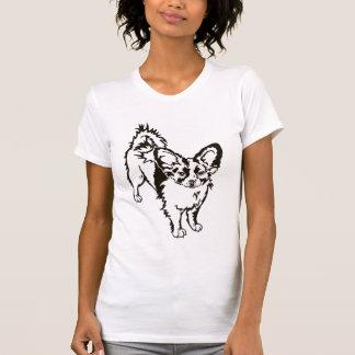 Sweet Papillon Pup Tee Shirt