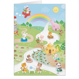 Sweet paradise card