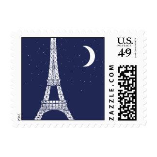 Sweet Paris Postage Stamp