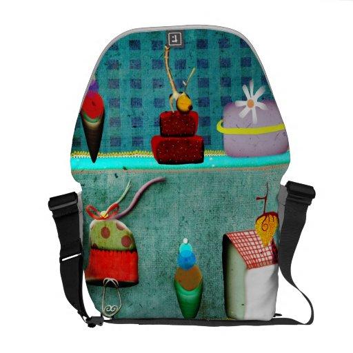 Sweet Paris Rickshaw Messenger Bag