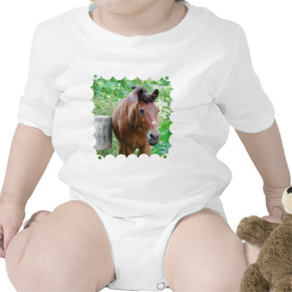 Sweet Paso Fino Horse Baby Creeper