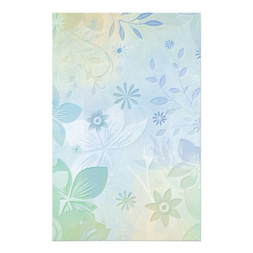 Sweet Pastel Blues (3).jpg Stationery Paper