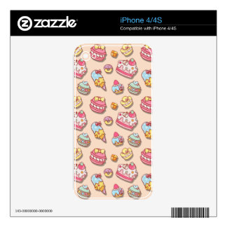 Sweet pattern decal for the iPhone 4