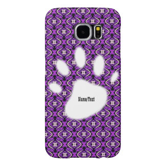 sweet pattern purple (I) Samsung Galaxy S6 Cases