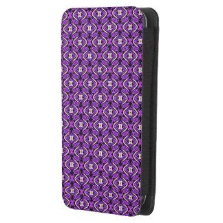 sweet pattern purple (I) Galaxy S4 Pouch