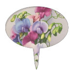 Sweet Pea 1907 Cake Toppers
