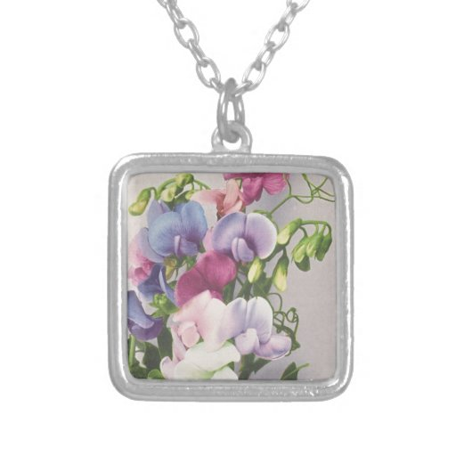 Sweet Pea 1907 Necklace