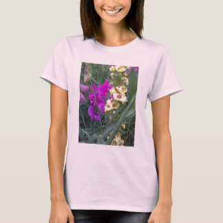 Sweet Pea and Mullein Flower T-Shirt