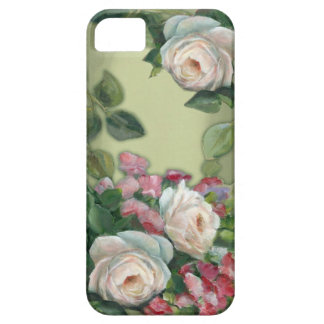 Sweet Pea and Rose Bouquet iPhone SE/5/5s Case