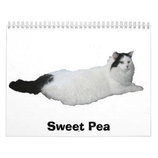 Sweet Pea Calendar