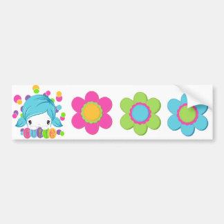 Sweet Pea Cutie Sticker Sheet 6 Car Bumper Sticker