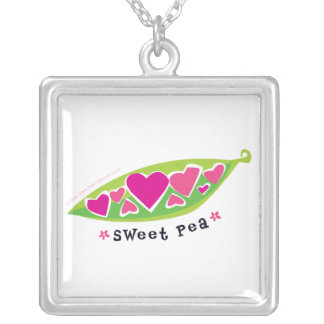 Sweet Pea Design Necklace