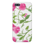 Sweet Pea Floral Vine Speck Case Case For iPhone 5/5S
