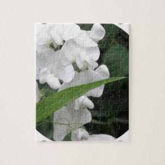 Sweet Pea Flowers Puzzle