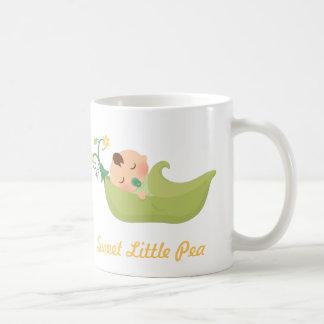 Sweet Pea in a Pod Cute Baby Boy Classic White Coffee Mug