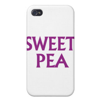 Sweet Pea iPhone 4/4S Covers