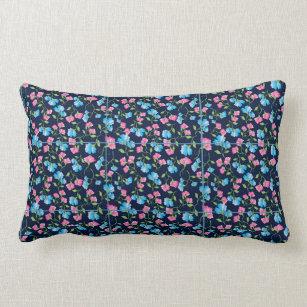 Sweet Pea Lumbar Pillow