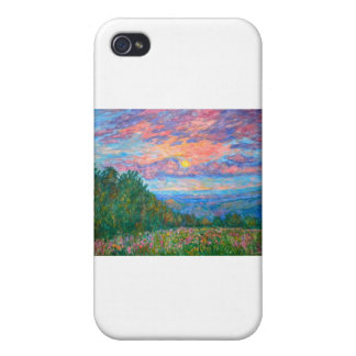 Sweet Pea Morning on the Blue Ridge iPhone 4/4S Case