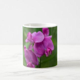 Sweet Pea Pretty Pink Wildflowers Floral Mug Cup