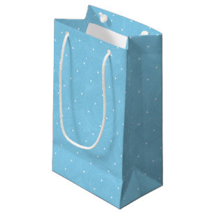 Sweet Pea Tea Birthday Blue Small Gift Bag