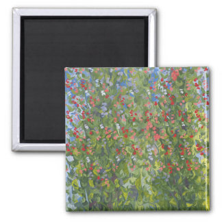 Sweet Peas 2014 2 Inch Square Magnet