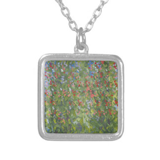 Sweet Peas 2014 Silver Plated Necklace