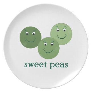 Sweet Peas Dinner Plate