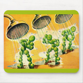 sweet peas taking showers mouse pad