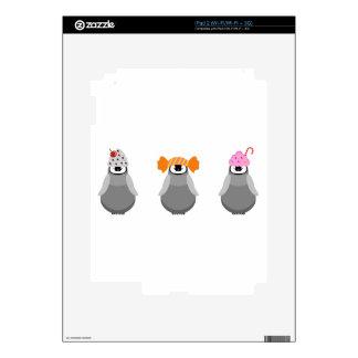 Sweet Penguins iPad 2 Skins
