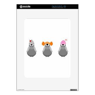 Sweet Penguins iPad Decals