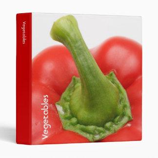 Sweet pepper vinyl binders