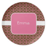 Sweet Personalized Kids Plate