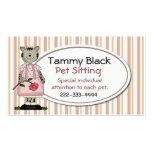 Sweet Pet Sitting Business Card