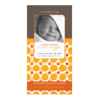 SWEET PHOTO  BIRTH ANNOUNCEMENTS :: hello baby 5 Photo Card